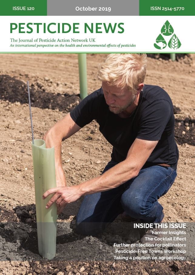 Pesticide News Issue 120 - October 2019