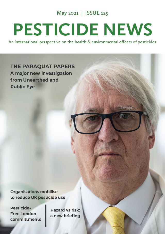 Pesticide News Issue 125 - May 2021