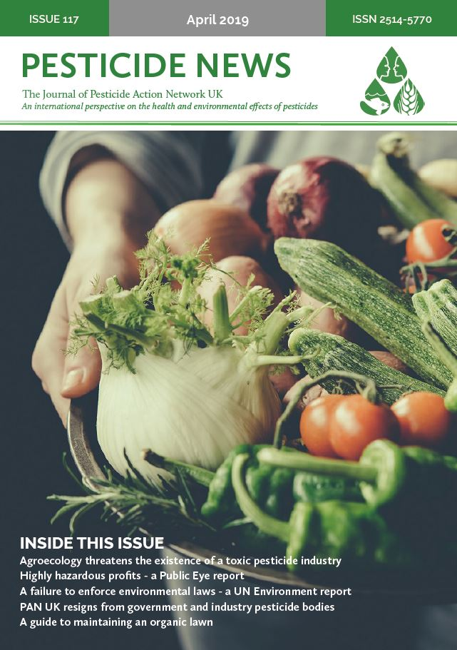 Pesticide News Issue 117 - April 2019