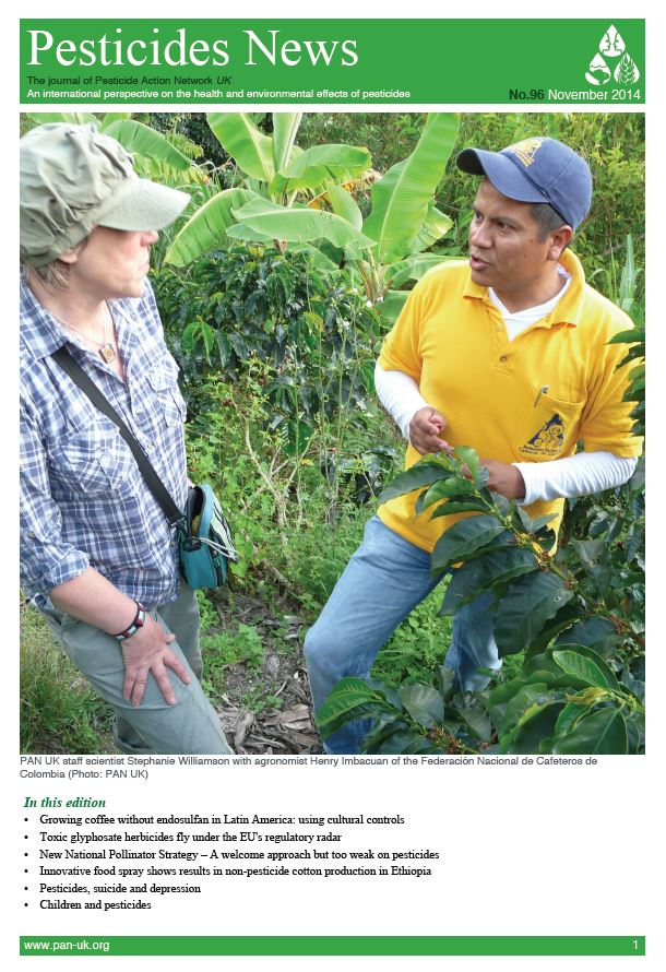 Pesticide News Issue 96 - November 2014