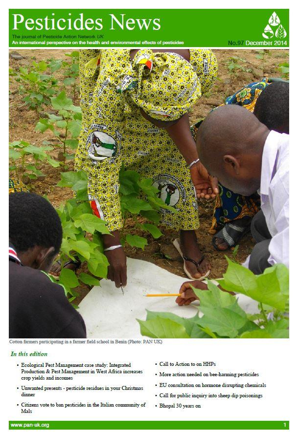 Pesticide News Issue 97, December 2014