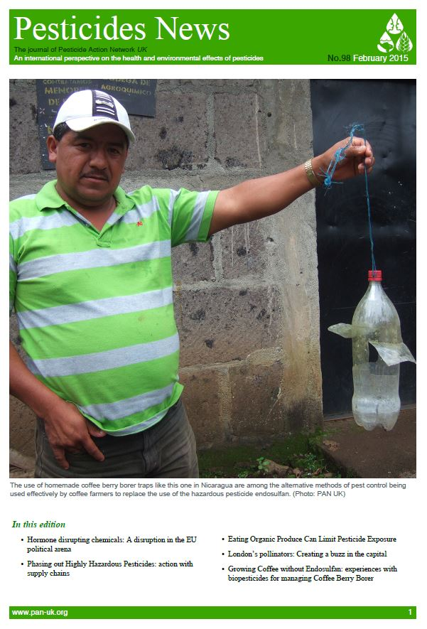 Pesticide News - Issue 98, February 2015