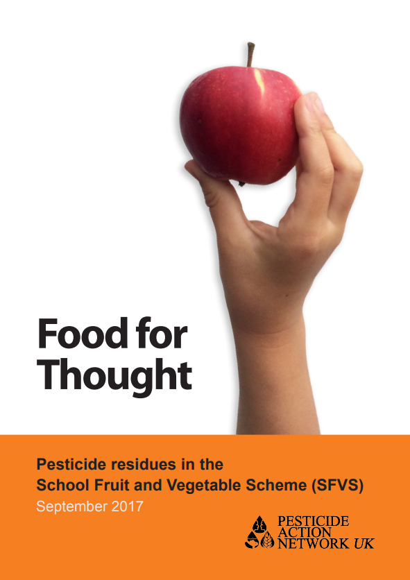 Press release - Daily cost of 1p extra per child could end schoolchildren's exposure to cocktail of pesticides