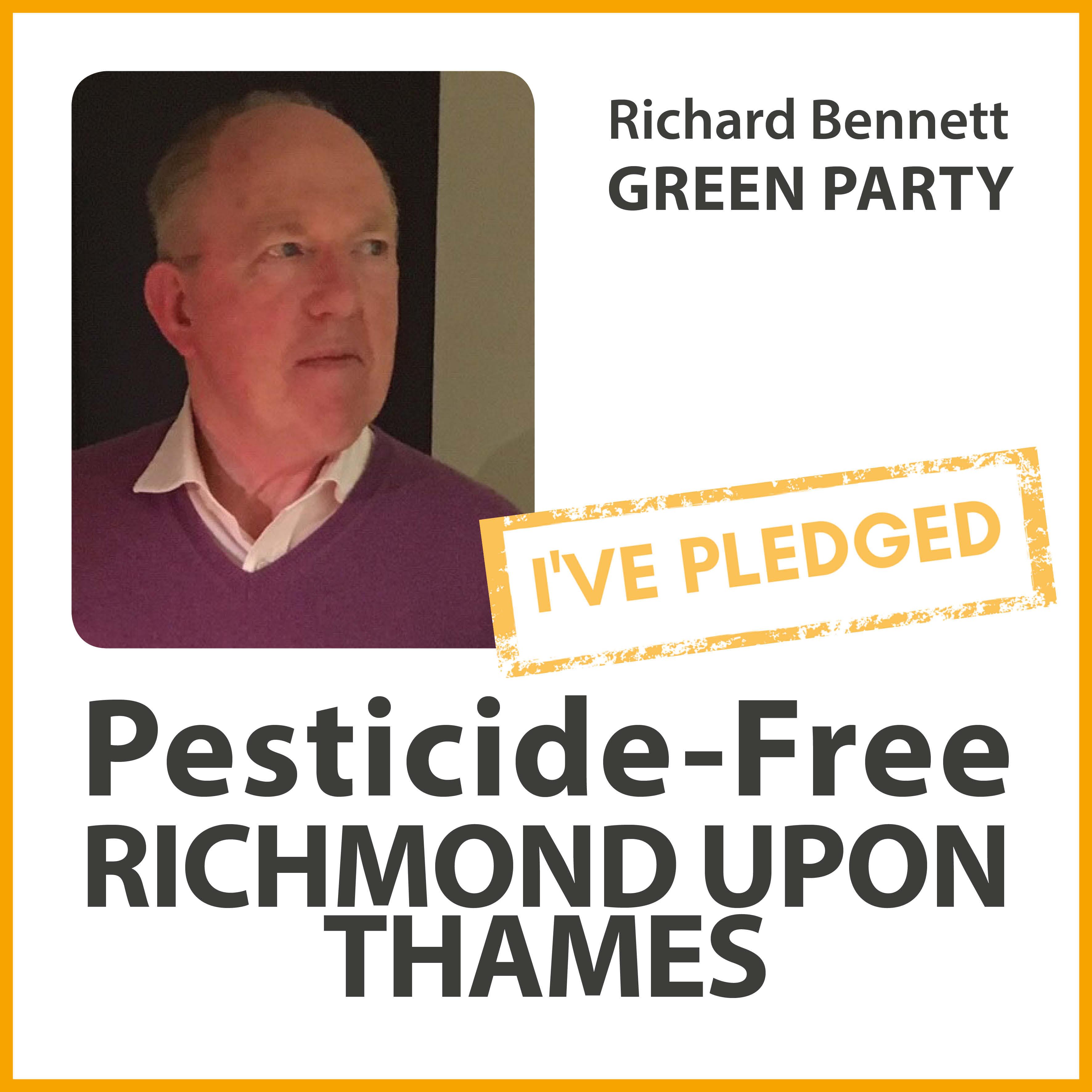 Richard Bennett has pledged to make Richmond pesticide-free