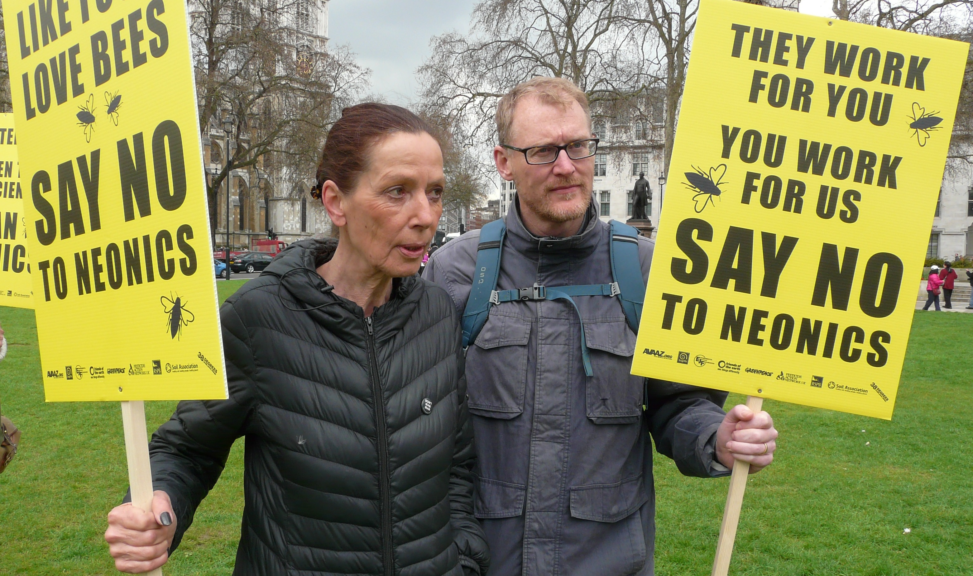 PAN UK campaigns against the use of neonicotinoids