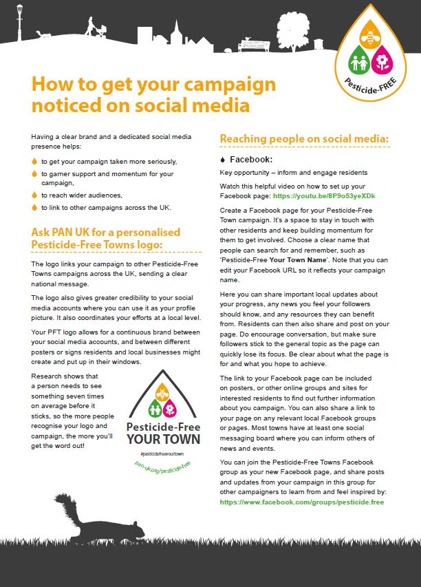 Social Media Guide for Campaigners