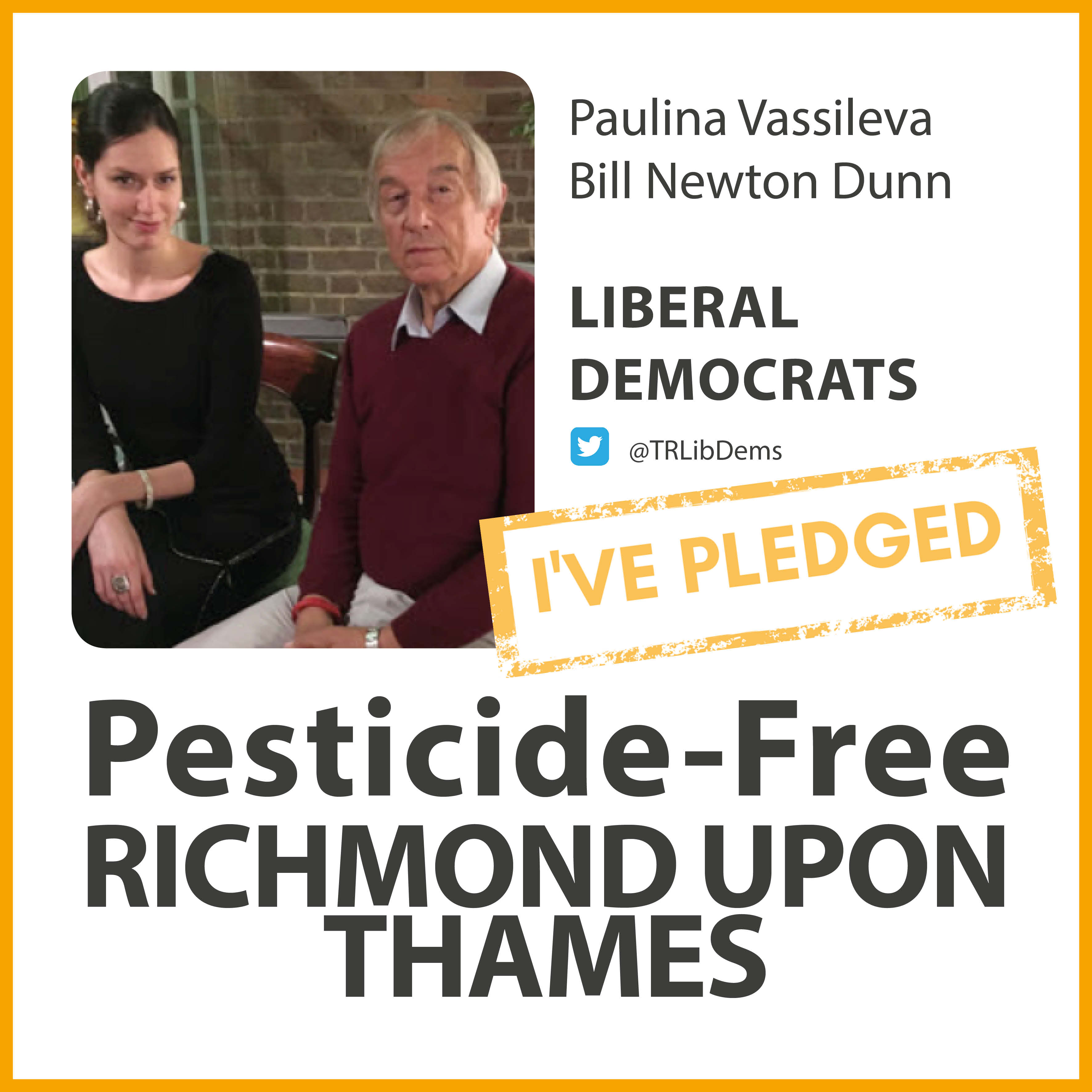 South Richmond Lib Dems have taken the pesticide-free pledge