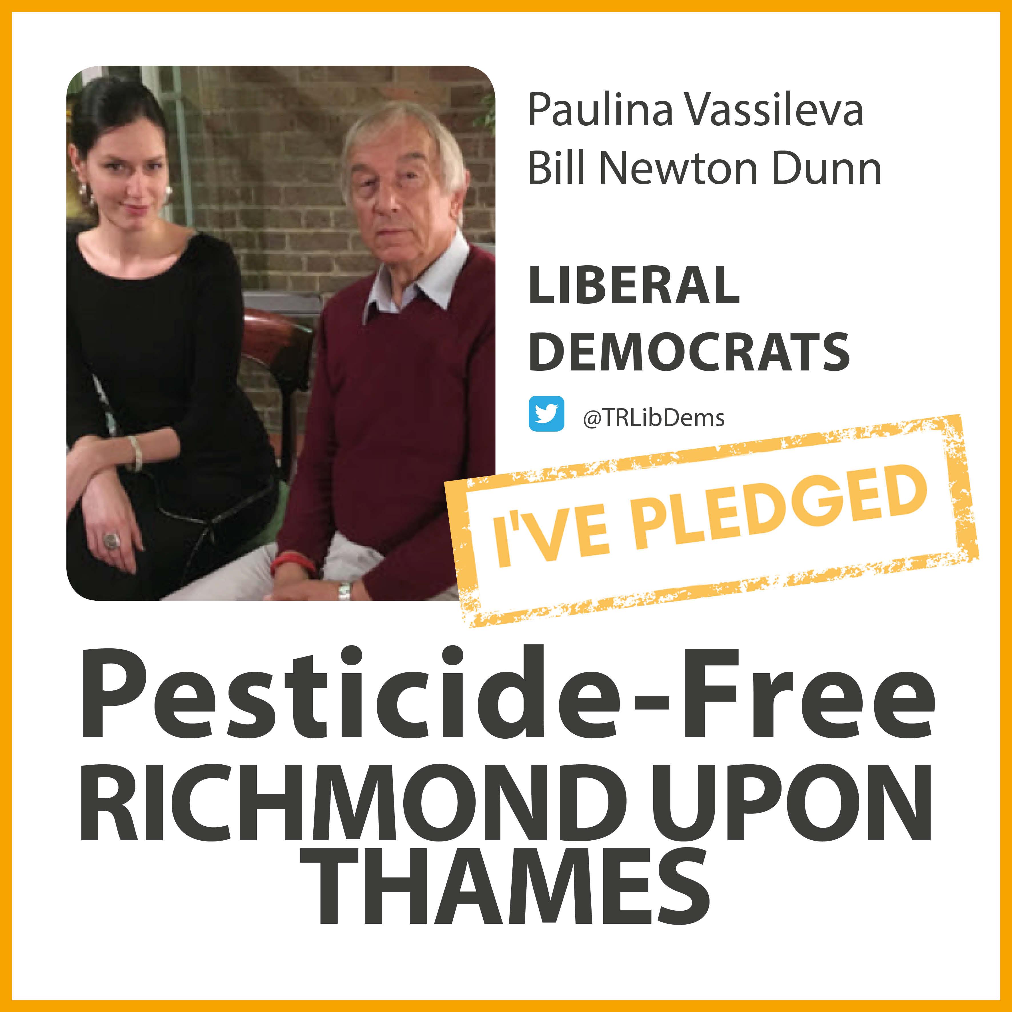 South Richmond Lib Dems have taken the pesticide-free pledge
