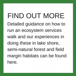 Ecosystem services walks - further information