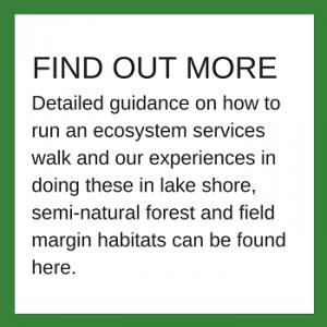 Ecosystem services walks - further information