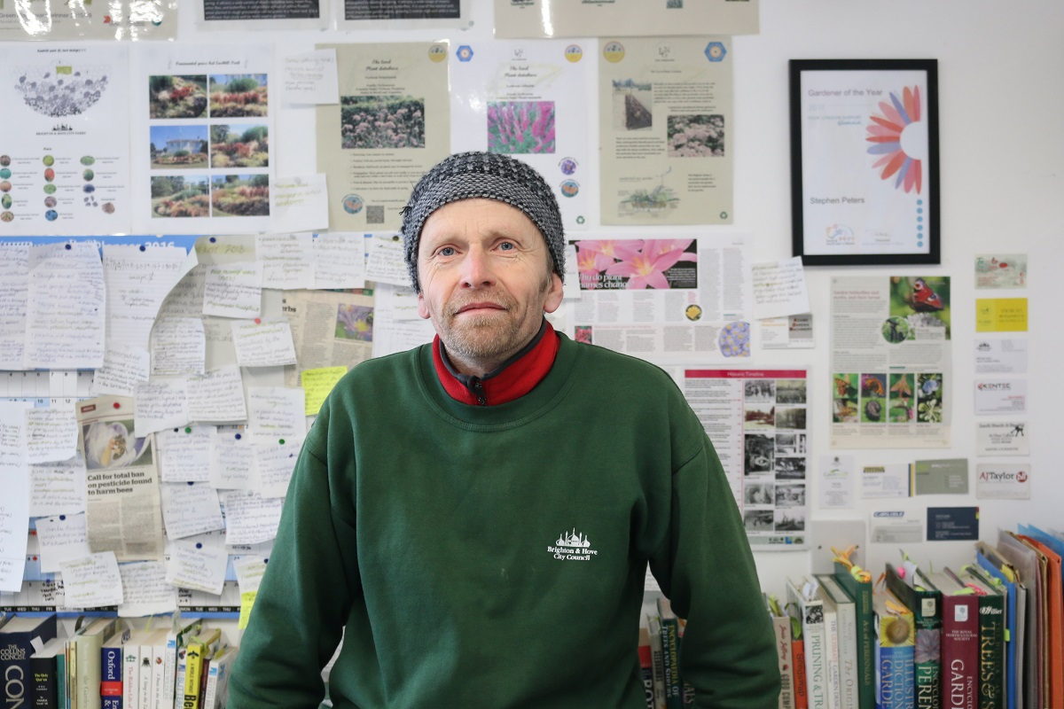 Steve Peters, Garden Manager at The Level Park