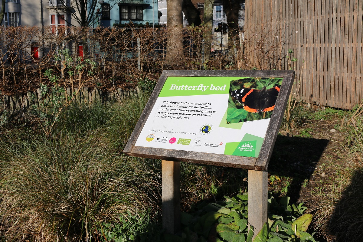 The Level Park in Brighton is pesticide-free