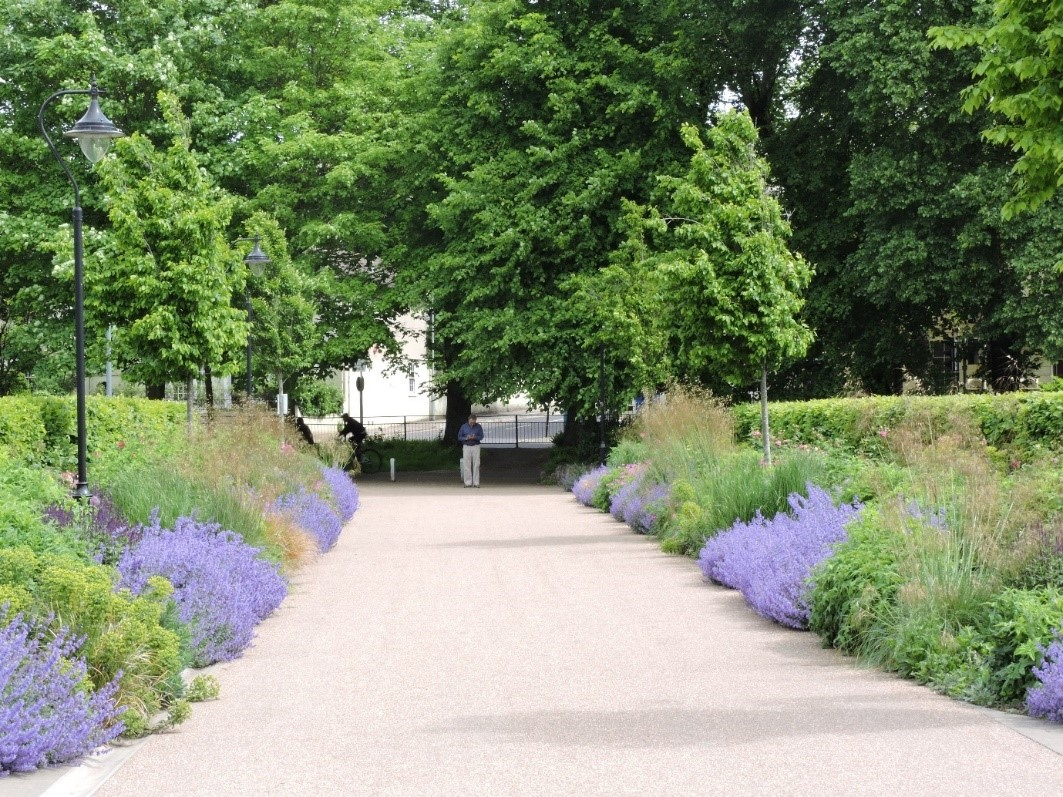 The Level Park in Brighton is pesticide-free