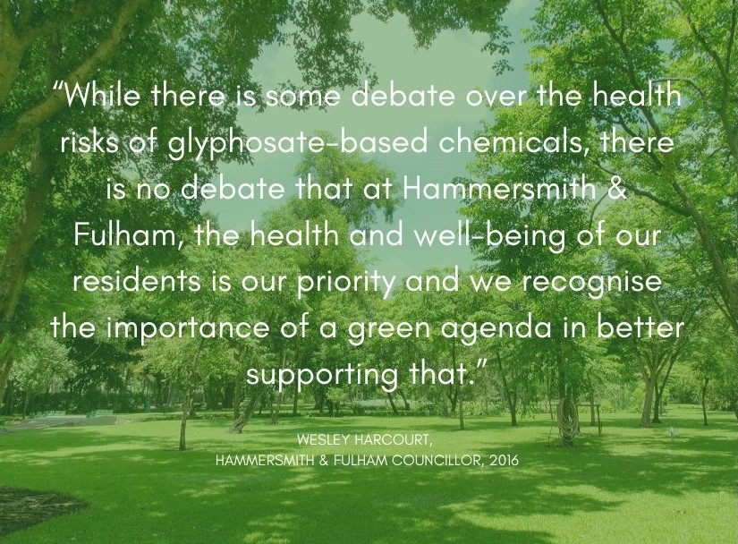 Quote by Wesley Harcourt, Hammersmith & Fulham Councillor