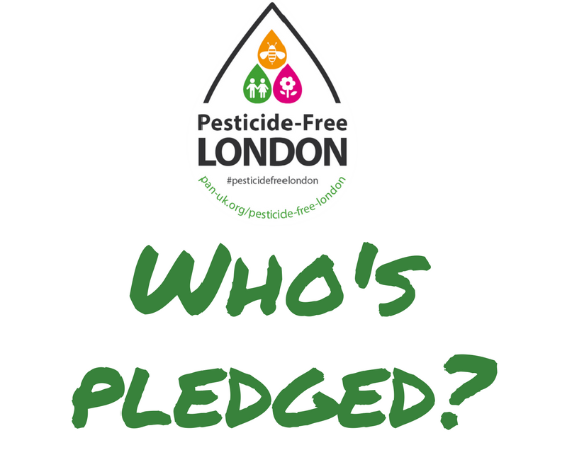 Pesticide-Free London pledges