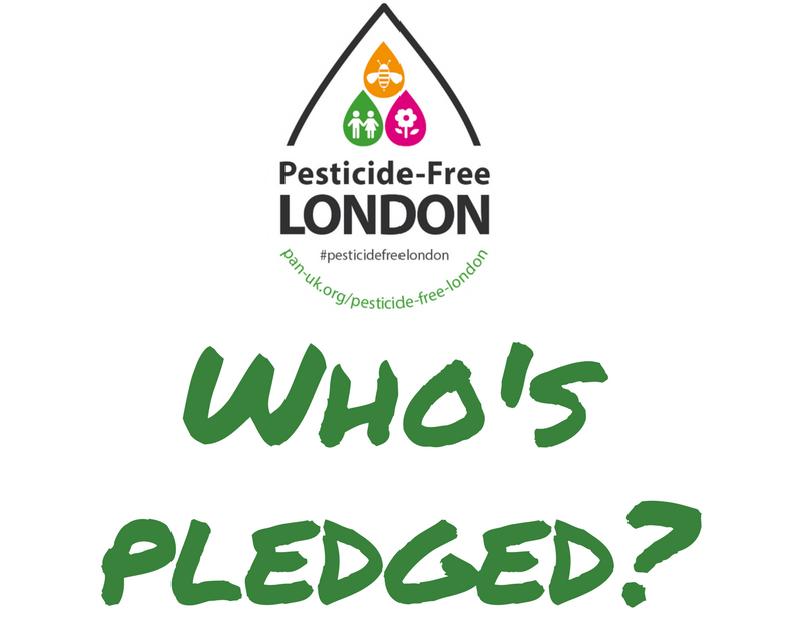 Pesticide-Free London pledges