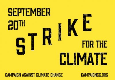 PAN UK joins the strike for climate change