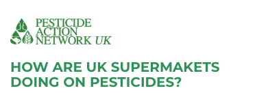 Supermarkets Pesticide Ranking Logo